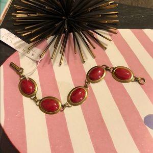 Sorrelli Red One of a Kind Line Bracelet